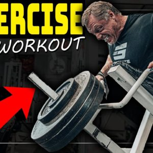 """""""4"""" Exercise Explosive Mass Building Back Workout"""