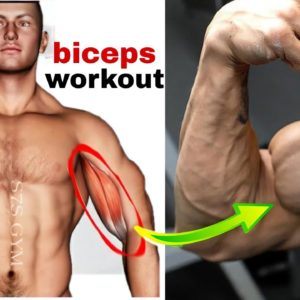 biceps workout at home