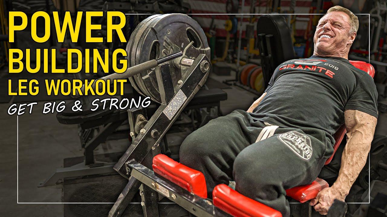 bodybuilding leg workouts