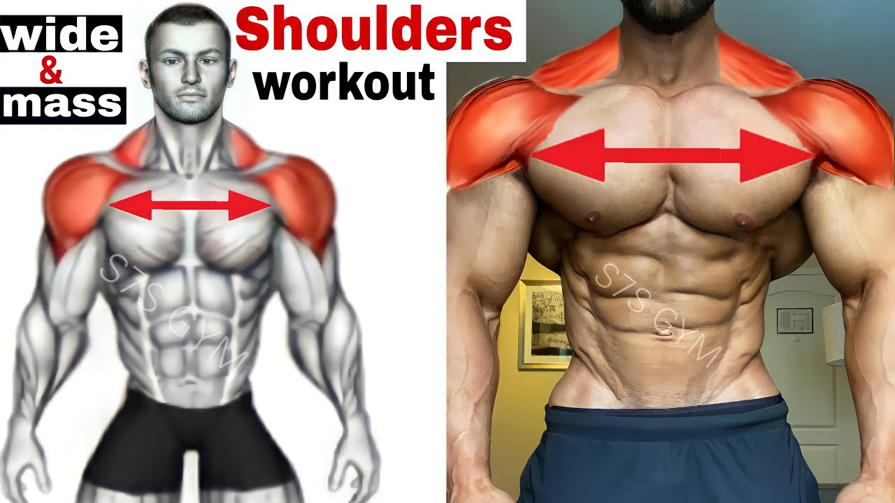 shoulders gym workout exercises