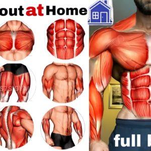 full-body exercises at🏠تمرين الجسم كامل في المنزل home