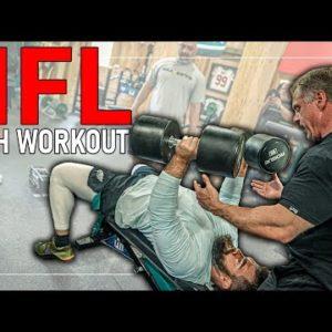 NFL Push Workout Build Strength & Explosiveness
