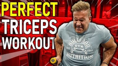 The Perfect Triceps Workout with Mr. Olympia Jay Cutler